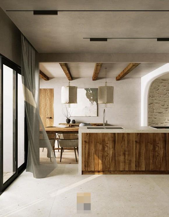 Không gian giản đơn, mộc mạc bên trong căn hộ 350 m2 của ca nương Kiều Anh-6