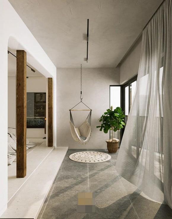 Không gian giản đơn, mộc mạc bên trong căn hộ 350 m2 của ca nương Kiều Anh-9