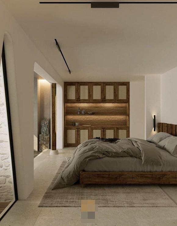 Không gian giản đơn, mộc mạc bên trong căn hộ 350 m2 của ca nương Kiều Anh-11