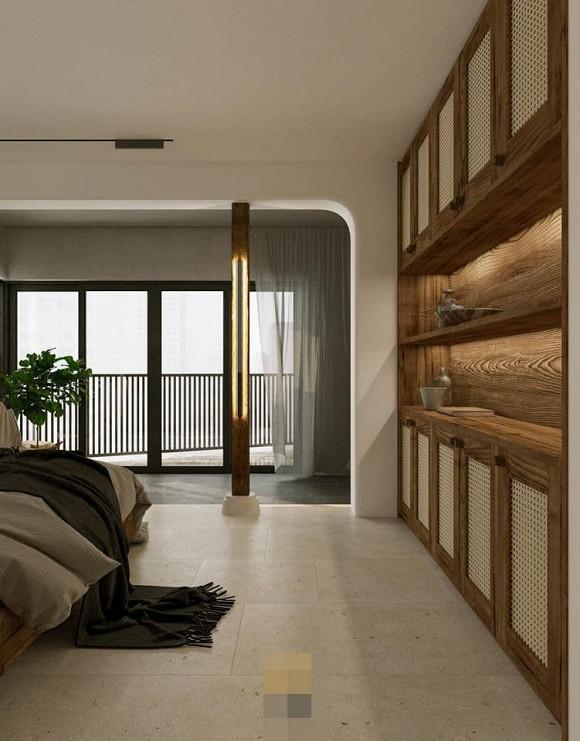 Không gian giản đơn, mộc mạc bên trong căn hộ 350 m2 của ca nương Kiều Anh-12