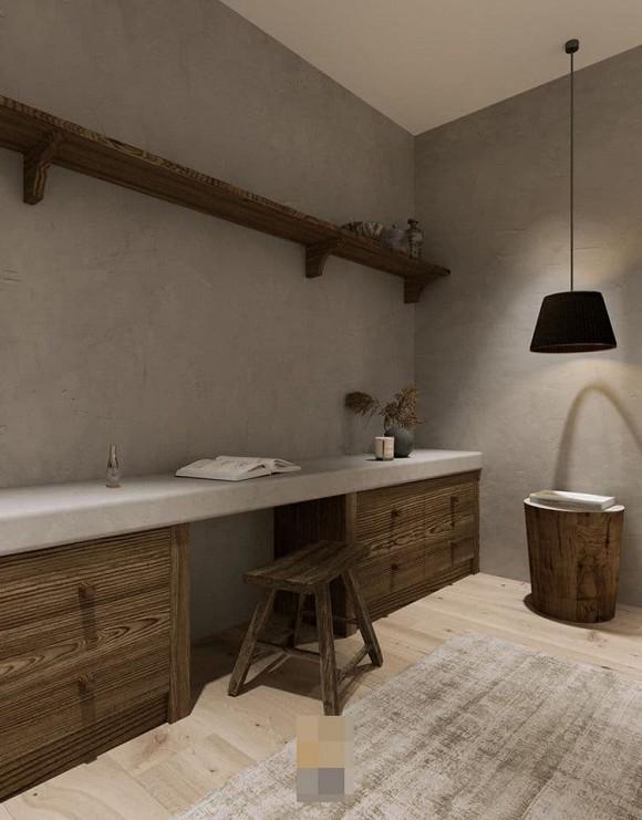Không gian giản đơn, mộc mạc bên trong căn hộ 350 m2 của ca nương Kiều Anh-18