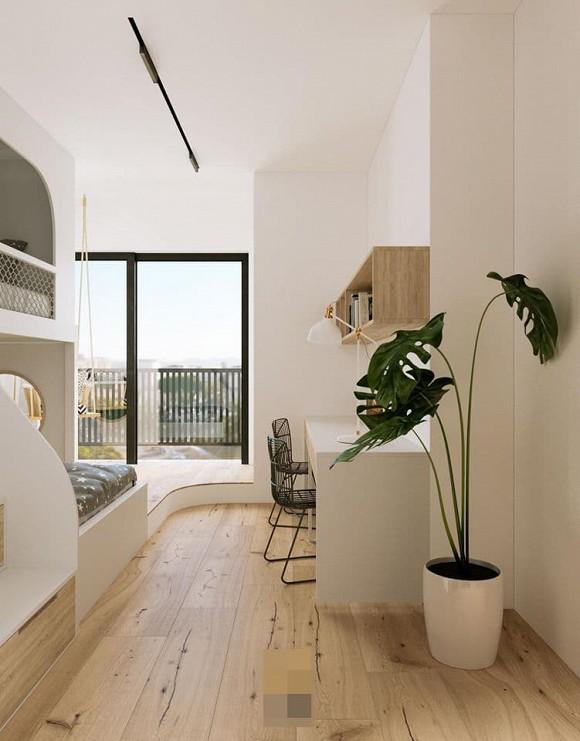 Không gian giản đơn, mộc mạc bên trong căn hộ 350 m2 của ca nương Kiều Anh-20