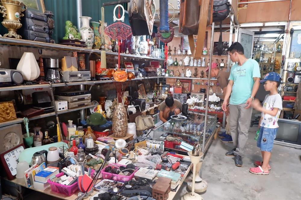 Đi chợ đồ cổ Hà Đông săn hàng gia dụng Nhật bãi chất lượng, giá rẻ-3