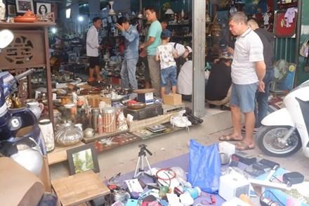 Đi chợ đồ cổ Hà Đông 'săn' hàng gia dụng Nhật bãi chất lượng, giá rẻ