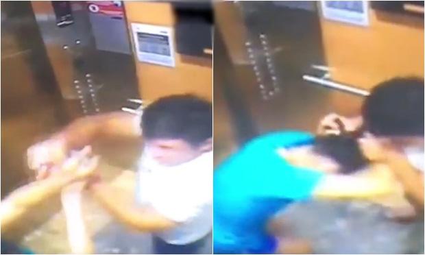 Người đàn ông giật tóc, xịt cồn vào mặt phụ nữ khi bị nhắc nhở đeo khẩu trang trong thang máy là phi công-1