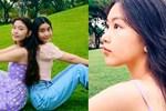 Bố nói con không dùng Facebook, dân tình phát hiện trang MXH con gái Quyền Linh, đăng toàn ảnh Hot-12