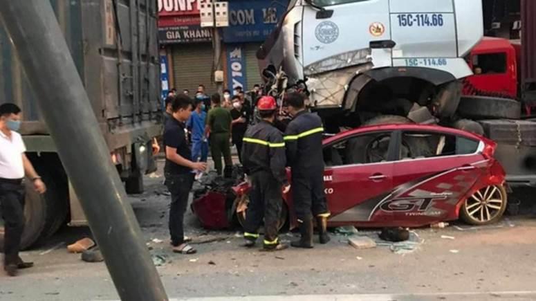 Nạn nhân sống sót duy nhất trong vụ tai nạn liên hoàn lúc rạng sáng khiến 3 người chết ở Hà Nội giờ ra sao?-1