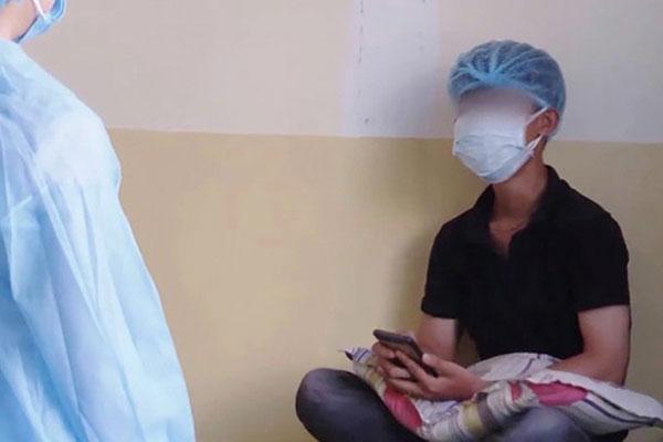 Bệnh nhân 419 âm tính lần 1 với SARS-CoV-2