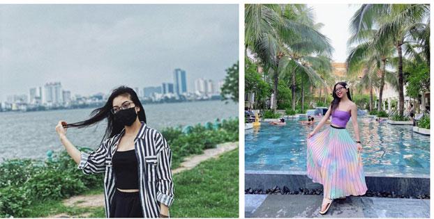 Đăng ảnh chụp gần cầu Rồng Đà Nẵng nhưng không đeo khẩu trang, hot girl Nhật Lê bị anti-fan chỉ trích xúc phạm nặng nề-5
