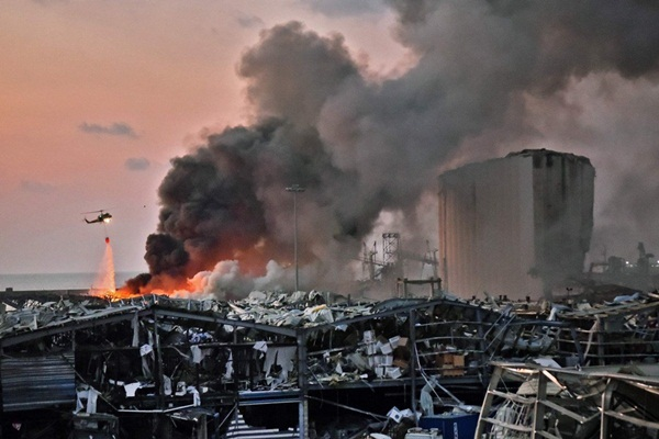 Nổ lớn ở Beirut, 78 người chết, 4.000 nạn nhân bị thương-1
