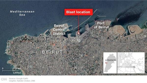 Nổ lớn ở Beirut, 78 người chết, 4.000 nạn nhân bị thương-5