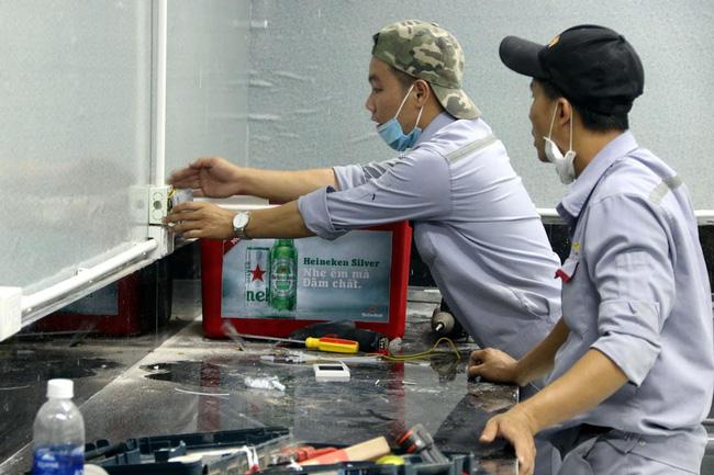 Cận cảnh bệnh viện dã chiến 700 giường tại Đà Nẵng hoàn thiện sau 72 giờ-5