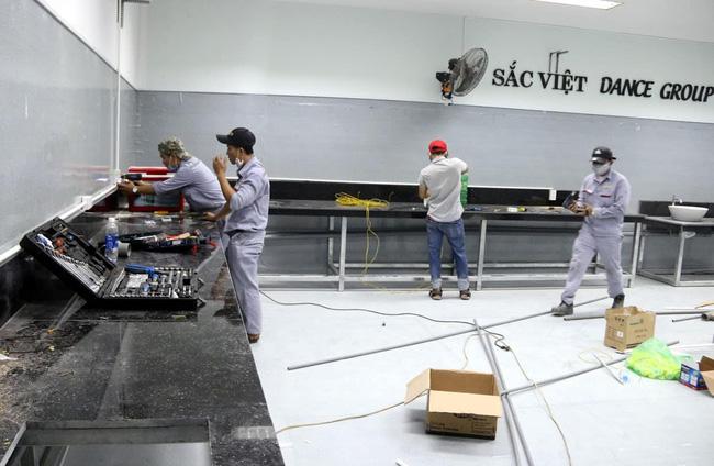 Cận cảnh bệnh viện dã chiến 700 giường tại Đà Nẵng hoàn thiện sau 72 giờ-10