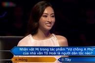 Hoa hậu Lương Thùy Linh thi Ai là triệu phú
