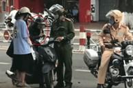 Bị công an giao thông yêu cầu dừng xe, cô gái chưa gì đã khóc sướt mướt như chia tay tình đầu gây sốt cộng đồng mạng