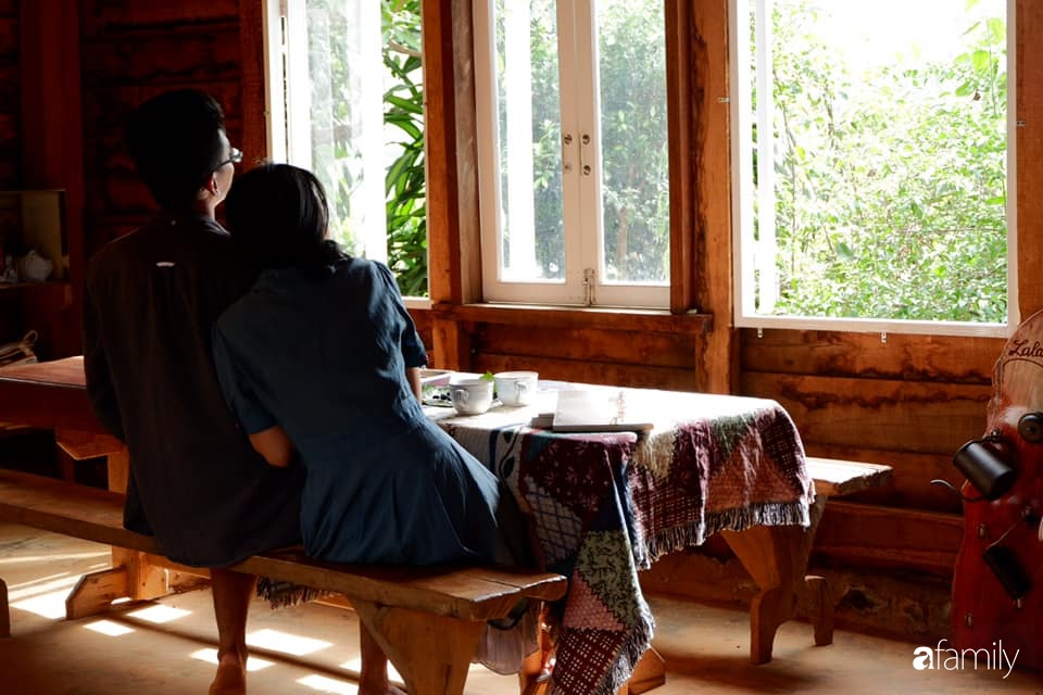 Khu vườn xanh tươi rộn ràng cây lá của cặp đôi quyết rời Sài Gòn tấp nập về núi rừng Tây Nguyên tìm chốn bình yên-15