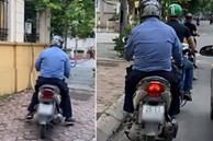 Cô gái Hà Nội quay cận cảnh người đàn ông chuyên 'sờ đùi' phụ nữ trên phố, dân mạng kiên quyết truy lùng cho bằng được