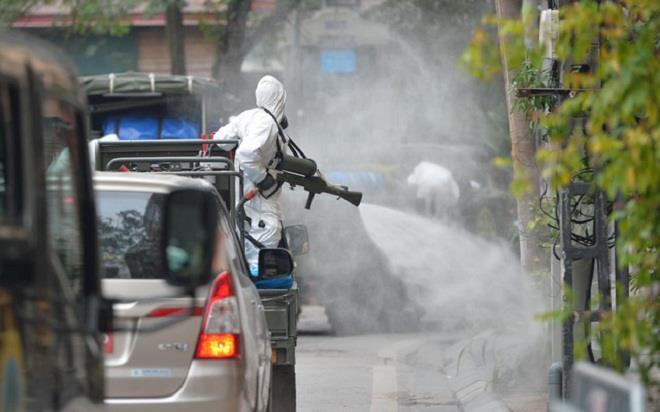 Nhân viên điều hành xe buýt ở Hà Nội nghi nhiễm COVID-19-1