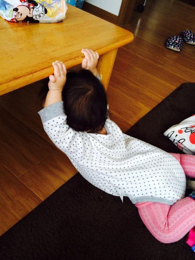 Những tư thế ngủ có thần thái đỉnh cao của các bé, xem xong ai nấy cười té ghế-10