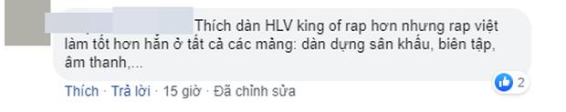 Dân mạng bàn phím chiến kịch liệt: Rap Việt nhận cơn mưa lời khen, người mê King Of Rap chê đối thủ không chất?-10