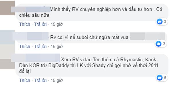 Dân mạng bàn phím chiến kịch liệt: Rap Việt nhận cơn mưa lời khen, người mê King Of Rap chê đối thủ không chất?-5