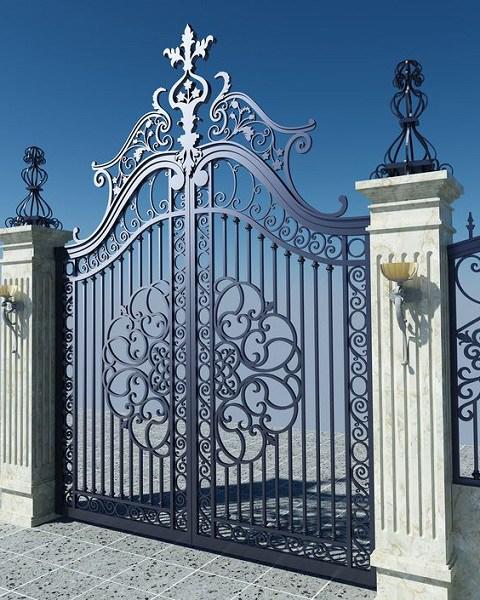 Những mẫu cổng nhà đẹp đơn giản nhưng hiện đại và sang trọng nhất 2020-8