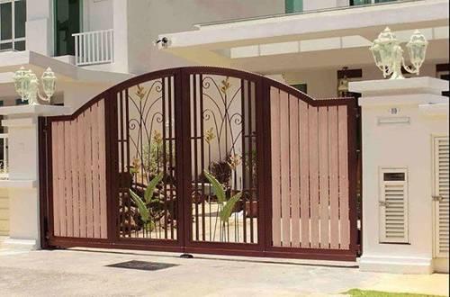 Những mẫu cổng nhà đẹp đơn giản nhưng hiện đại và sang trọng nhất 2020-9