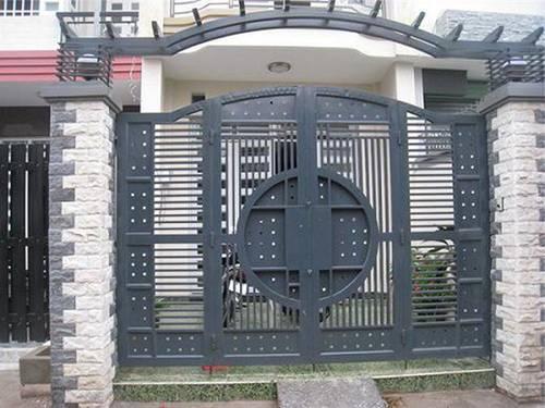 Những mẫu cổng nhà đẹp đơn giản nhưng hiện đại và sang trọng nhất 2020-10