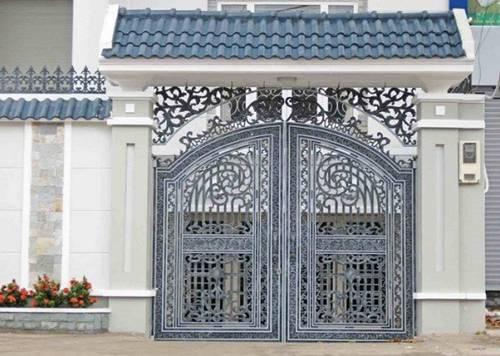 Những mẫu cổng nhà đẹp đơn giản nhưng hiện đại và sang trọng nhất 2020-13