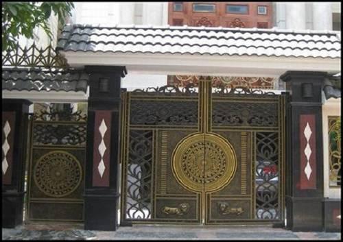 Những mẫu cổng nhà đẹp đơn giản nhưng hiện đại và sang trọng nhất 2020-14