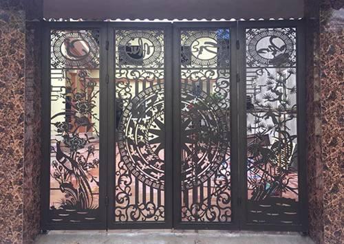 Những mẫu cổng nhà đẹp đơn giản nhưng hiện đại và sang trọng nhất 2020-16
