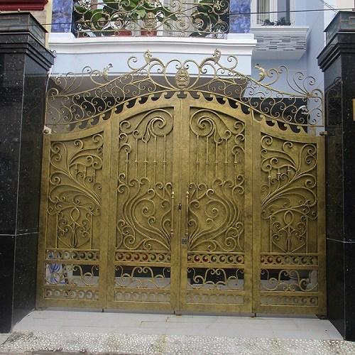 Những mẫu cổng nhà đẹp đơn giản nhưng hiện đại và sang trọng nhất 2020-19
