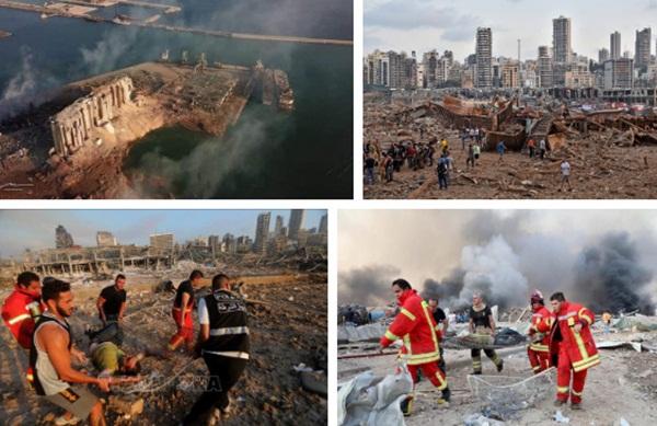 Trái tim rỉ máu của Liban: Cảng Beirut hóa thành tro tàn sau vụ nổ, tiếng gào thét ai oán tuyệt vọng đầy tang thương-3