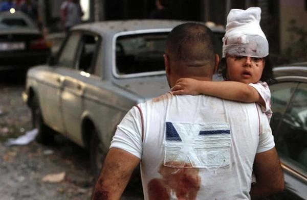 Trái tim rỉ máu của Liban: Cảng Beirut hóa thành tro tàn sau vụ nổ, tiếng gào thét ai oán tuyệt vọng đầy tang thương-5
