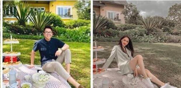 Hương Giang hẹn hò Matt Liu: Đánh golf chung, chàng gửi hoa tặng nàng, khoe lên cả Facebook nhưng không ai để ý!-1