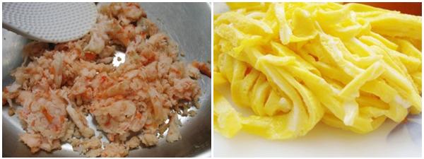 Buổi sáng nấu bún thang ngon đúng vị Hà Nội đơn giản, dễ làm tại nhà-4