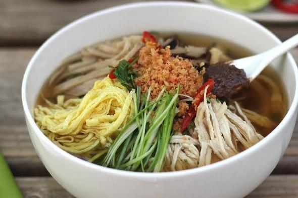 Buổi sáng nấu bún thang ngon đúng vị Hà Nội đơn giản, dễ làm tại nhà-5