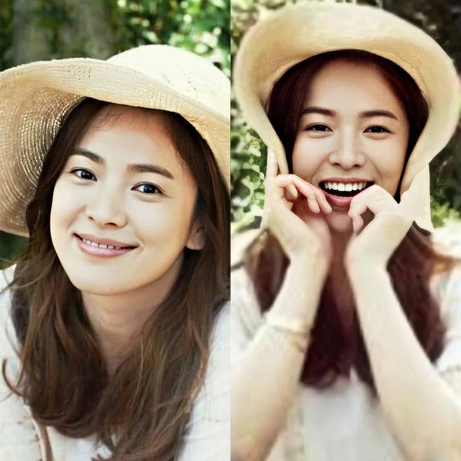 Nhan sắc của Song Hye Kyo xuất chúng đến nỗi cân đẹp mọi kiểu mũ dù sến hay lỗi thời tới đâu-2