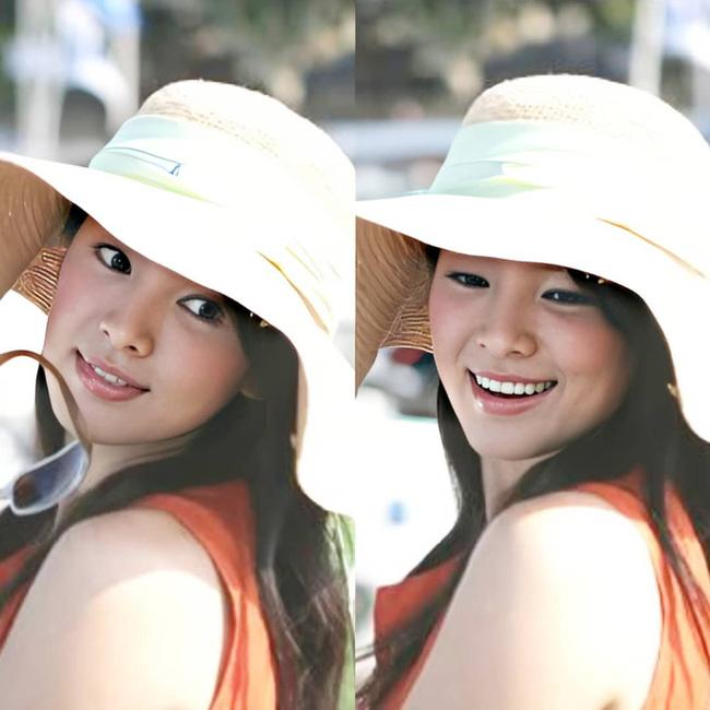 Nhan sắc của Song Hye Kyo xuất chúng đến nỗi cân đẹp mọi kiểu mũ dù sến hay lỗi thời tới đâu-6