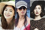 Nhan sắc của Song Hye Kyo xuất chúng đến nỗi cân đẹp mọi kiểu mũ dù sến hay lỗi thời tới đâu