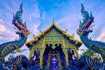 Ngôi chùa hình con thuyền khổng lồ ở Thái Lan-1