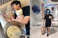 Công Phượng được vợ sắp cưới Viên Minh chăm sóc tận răng khi bị bệnh nhưng cũng có lúc bị bắt đi chợ 'tay xách nách mang' nhìn đến là thương