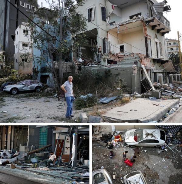 Điều kỳ diệu sau thảm họa: Bé gái 2 tuổi thoát chết thần kỳ sau 24 tiếng bị vùi trong đống đổ nát ở Beirut-4
