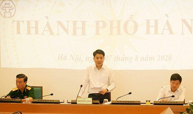 Chủ tịch Hà Nội: Từ hôm nay (7/8), sẽ xử phạt các trường hợp không đeo khẩu trang-1