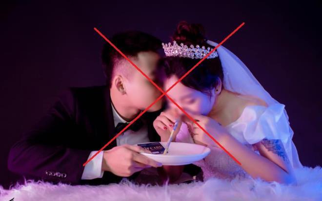 Phẫn nộ bộ ảnh cưới đồi bại mô phỏng sử dụng ma túy của đôi nam nữ-2