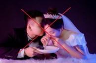 Phẫn nộ bộ ảnh cưới đồi bại mô phỏng sử dụng ma túy của đôi nam nữ
