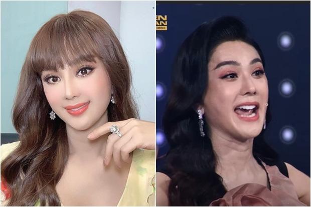 Nhan sắc thật của Lâm Khánh Chi lộ rõ trên sóng truyền hình: Dụi mắt 3 lần vẫn chưa tìm ra điểm chung!-3