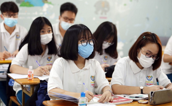 Một tỉnh phải cho 350 thí sinh dừng thi tốt nghiệp gấp vì liên quan đến ca nhiễm Covid-19 trên địa bàn-1