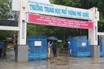 Chủ tịch Hà Nội đề nghị xét nghiệm lại PCR cho 3 thí sinh ở điểm thi Phan Đình Phùng-2
