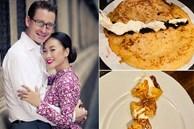 Đoan Trang khoe chồng Tây trổ tài làm bánh ngon 'bá cháy', chị em thi nhau vào khen ngợi 'đã đẹp trai còn nấu ăn giỏi'